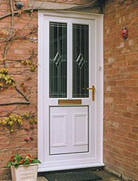 Prestige Windows - Double Glazed Front and Back Doors in Alcester, Warwickshire