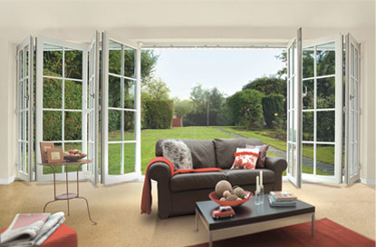 PVCU-Services - Double Glazed MultiFolding Doors Wellington, Telford