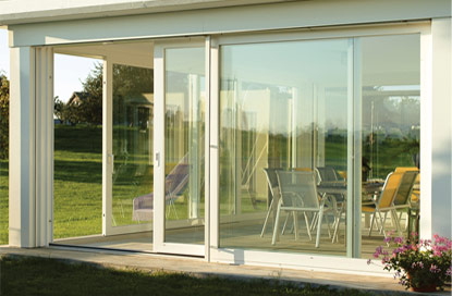Prestige Windows - The Choices Premier door with an opening of up to 6 meters Alcester, Warwickshire