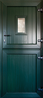 Broadstreet Windows supply and install Dark green stable doors in Coventry, Warwickshire