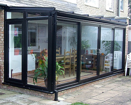 Black Coloured Windows Doors Conservatories Worcester