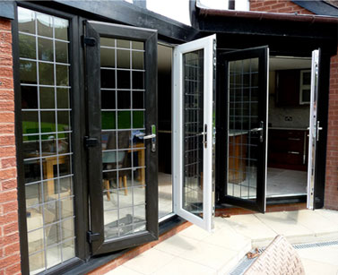 Black French Doors Burbage, Leicestershire