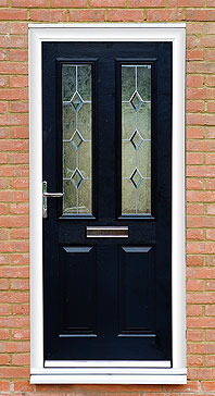 Black Composite Door Burbage, Leicestershire