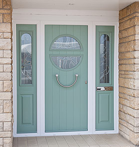 Chartwell Green Front Door Wellington Telford & Chartwell Green Coloured Windows Doors Conservatories Wellington ...