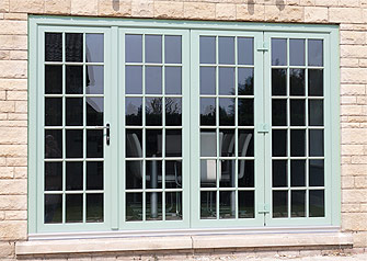 Chartwell Green French Doors Burbage, Leicestershire