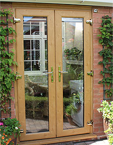 Irish Oak French Door Burbage, Leicestershire
