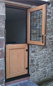 Irish Oak Stable Door Burbage, Leicestershire
