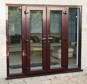 Mahogany French Doors Burbage, Leicestershire