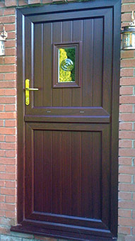 Mahogany Stable Door Burbage, Leicestershire