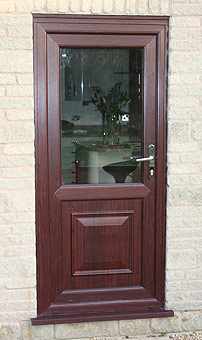 Rosewood Door Coventry Warwickshire & Rosewood Coloured Windows Doors Conservatories Coventry ...