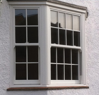 White Ash Bay Window Burbage, Leicestershire
