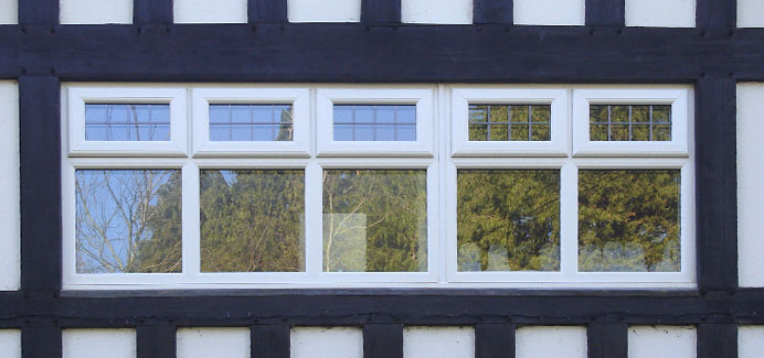 white-casement-windows