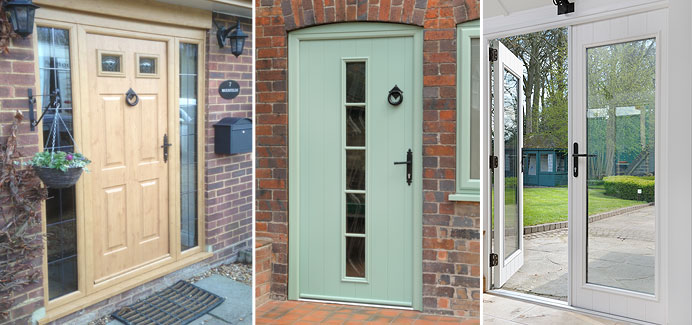Composite doors front doors back doors from cwg choices ltd for Back door with window that opens