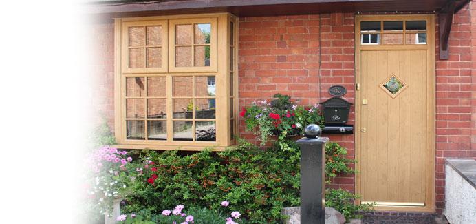 Front And Back Single Doors Double Glazed Doors Cwg