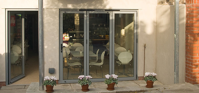 Aluminium Bi Folding And Bi Folding Doors Double Glazed