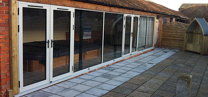 Aluminium French Doors Windows Doors Conservatories In Upvc And