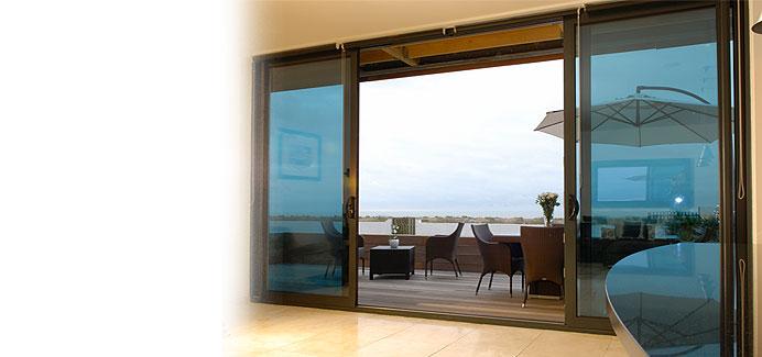 White Aluminium Large Patio Doors2