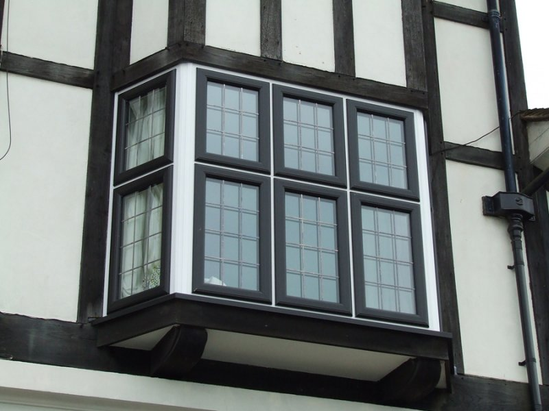 Black coloured windows doors and conservatories windows for Windows doors and conservatories
