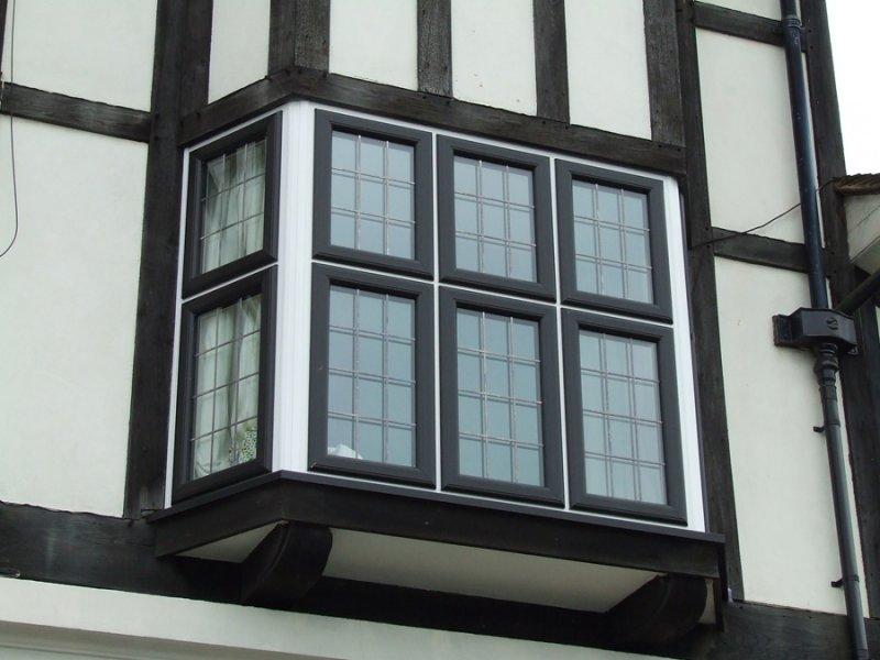 Black coloured windows doors and conservatories windows for Windows doors and conservatories