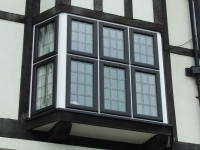 black-tudor-window