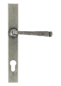 avon door handle in pewter
