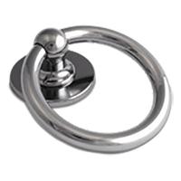 Bull Ring Knocker Hardex Chrome