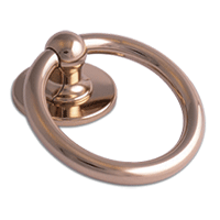 Bull Ring Knocker Hardex Gold
