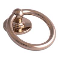 Bull Ring Knocker Hardex Gold