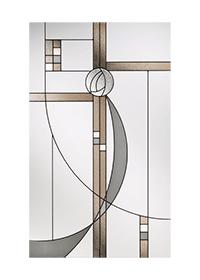 Caledonian rose Glass Design