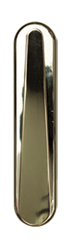 Contemporary Knocker in Hardex Gold