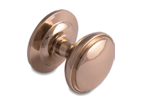 decorative door knob in hardex gold