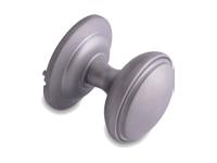 decorative door knob in hardex satin