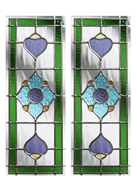Dorchester long Glass Design