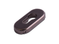oval escutcheon in Hardex Bronze