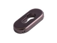 oval escutcheon in Hardex Bronze