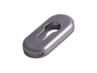 oval escutcheon in Hardex Graphite