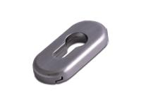 oval escutcheon in Hardex Graphite