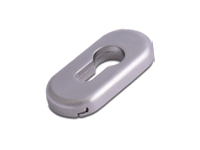 oval escutcheon in hardex satin