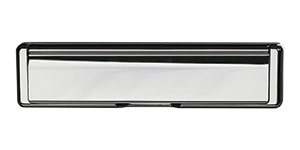 Standard Letterbox in hardex chrome