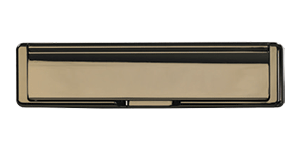 Standard Letterbox in hardex bronze