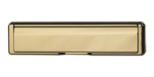 Standard Letterbox in hardex gold