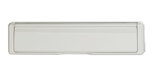 Standard Letterbox in white