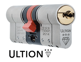 Ultion Lock with ultion logo underneath