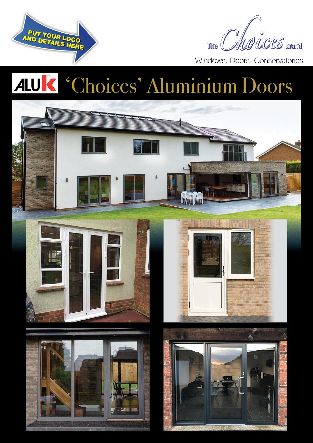 Choices Rebrandable Aluminium Doors