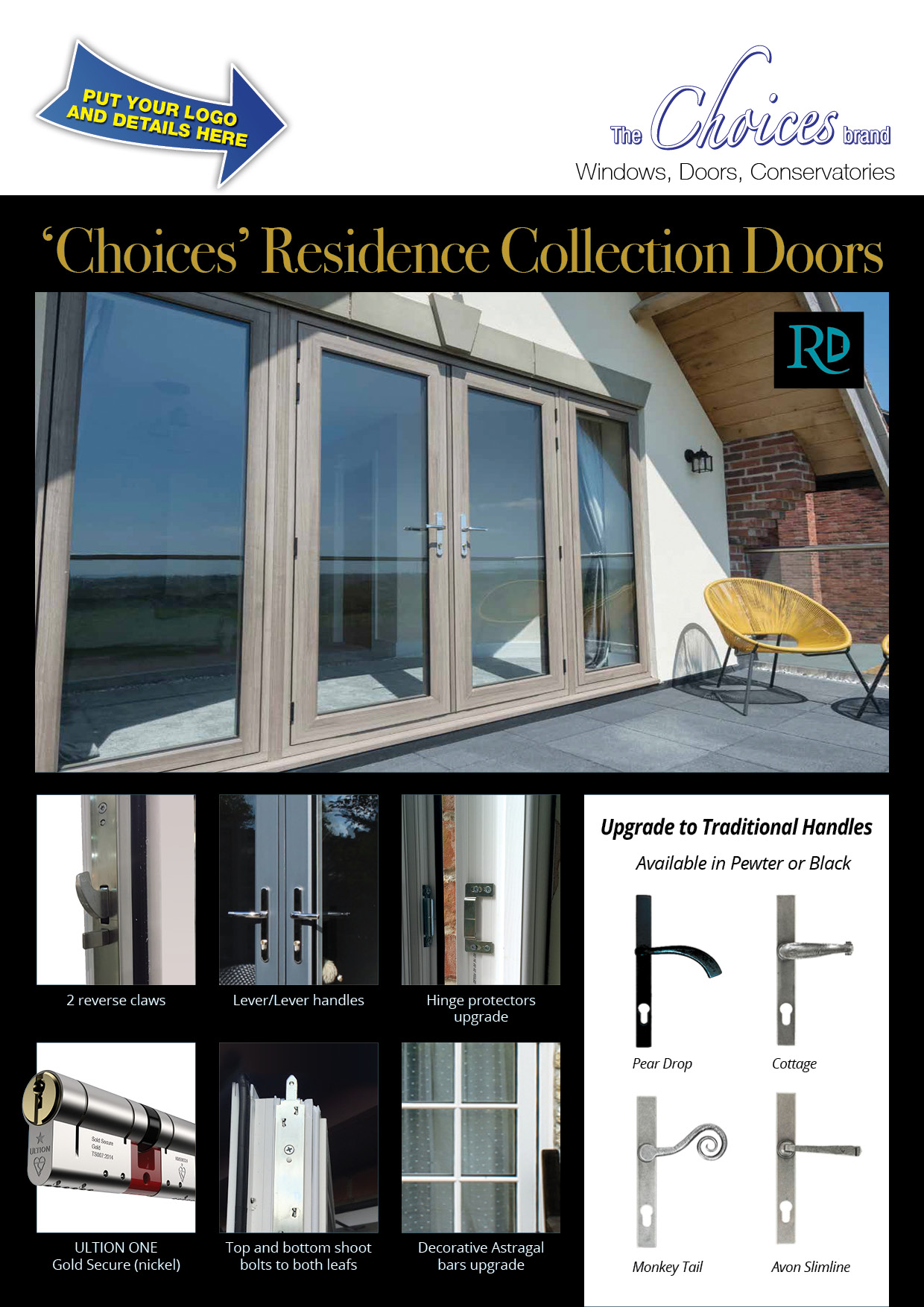 Choices Rebrandable Residence Doors