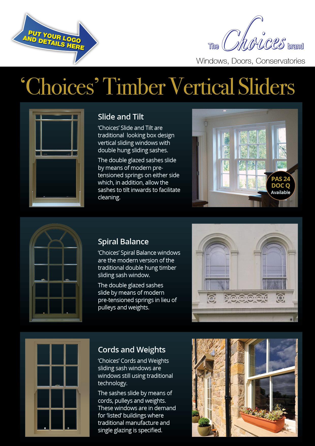 Choices Rebrandable Timber VS