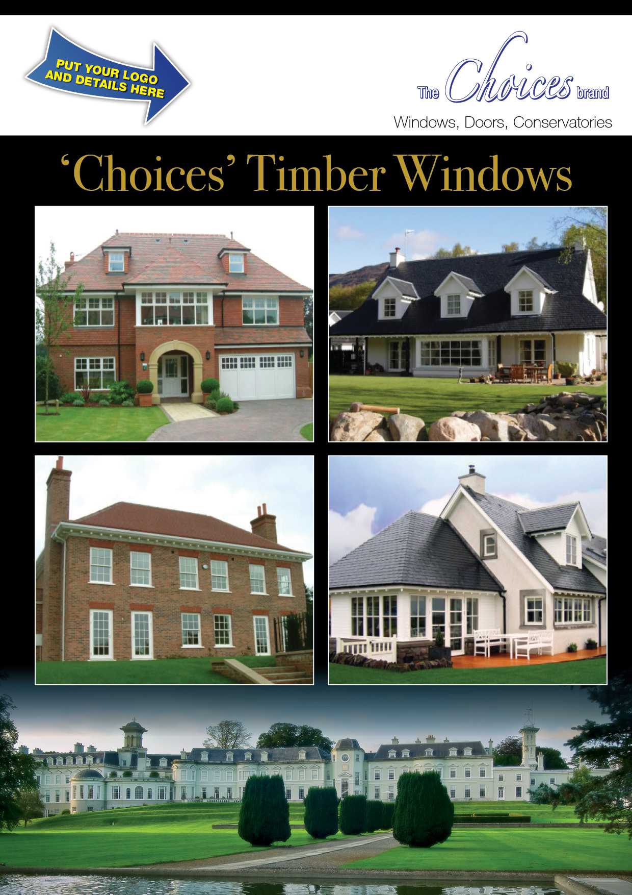 Choices Rebrandable Timber Windows