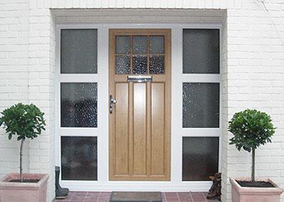 timber alternative doors