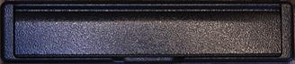 antique black premium letterbox
