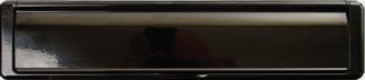 black premium letterbox